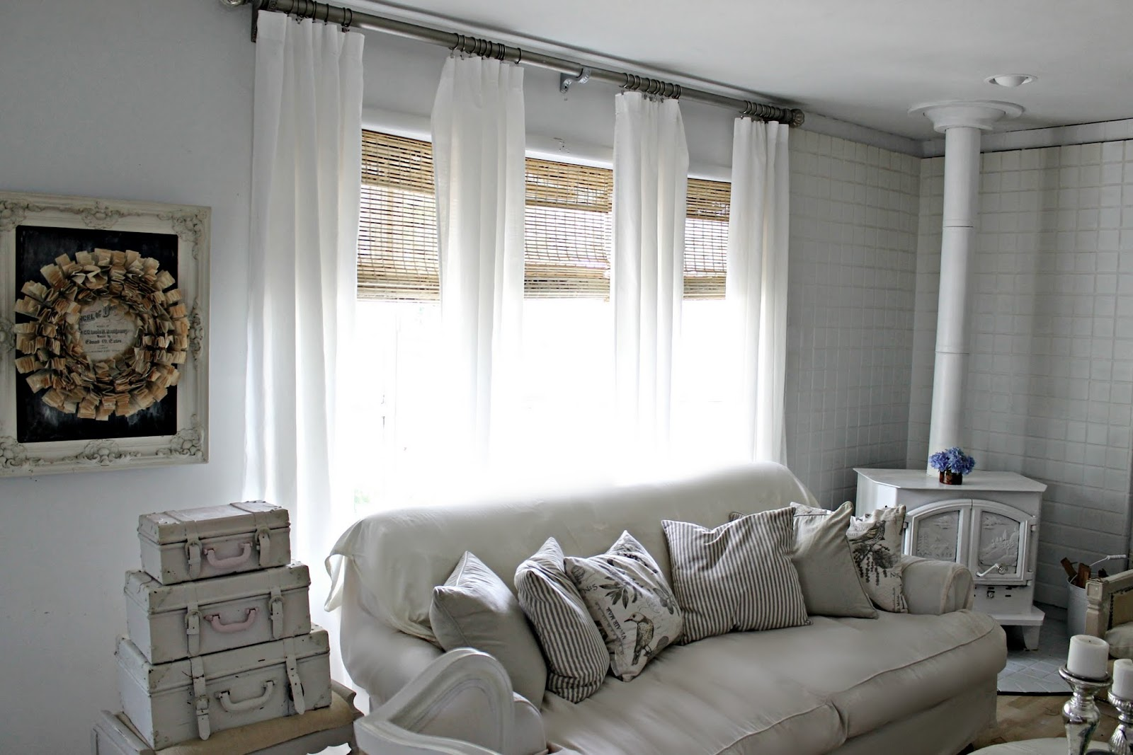 1067 #7A6951 Bamboo Blinds That I Ordered From Overstock Com I Added A Sisal Rug pic Overstock Patio Doors 35611600