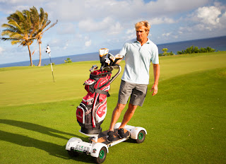 GolfBoard in use