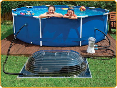 Swimming pool heat above ground pool heaters - Solar powered swimming pool heater ...