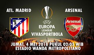 Prediksi Bola Atletico Madrid vs Arsenal 4 Mei 2018