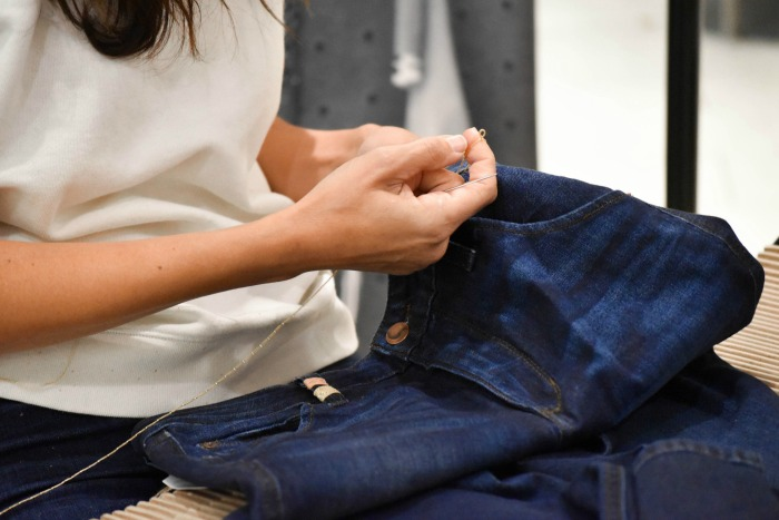 how to diy denim jeans