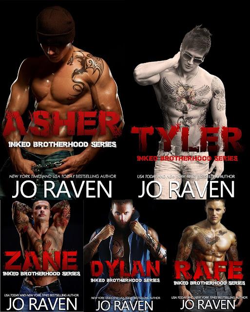 Serie Inked Brotherhood, de Jo Raven