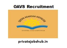 OAVS Recruitment