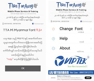 TTA MI Myanmar Font 9 5 to 10 - myblogger