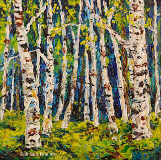the aspen, atlanta art galleries, tree art