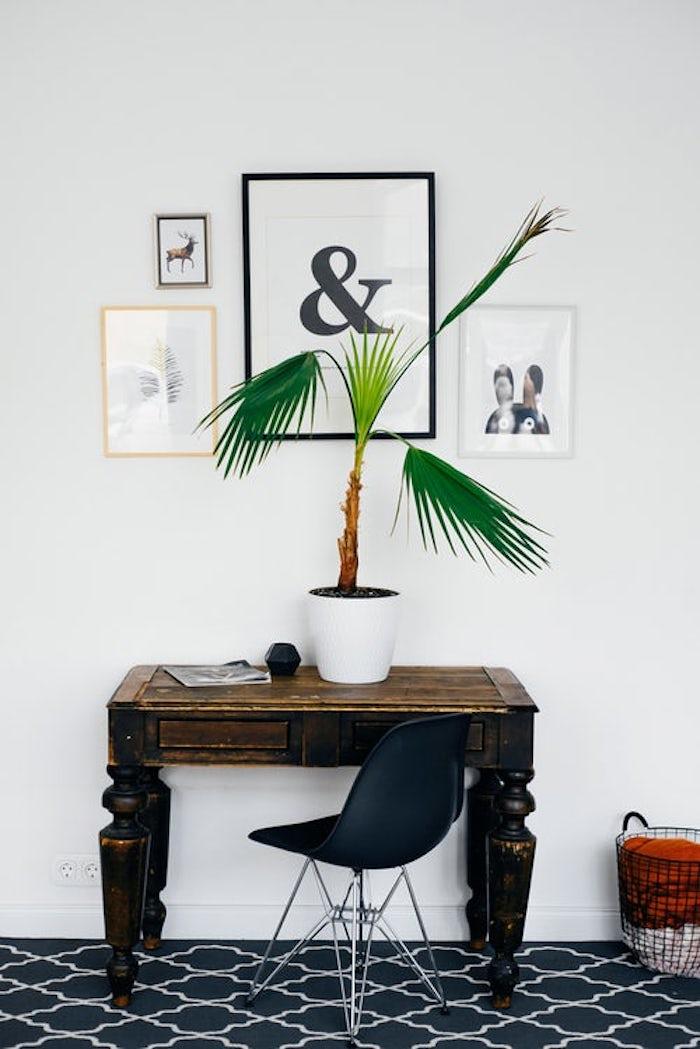 Galería de cuadros sobre escritorio