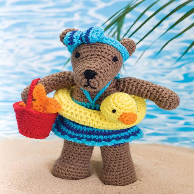 Amigurumi Beach Bear-Free Pattern