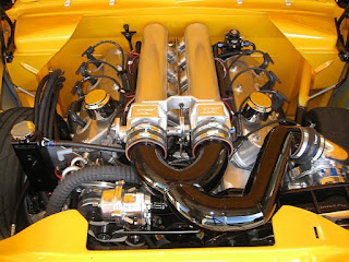 Awesome Classic Muscle Car Modified V8 Engine