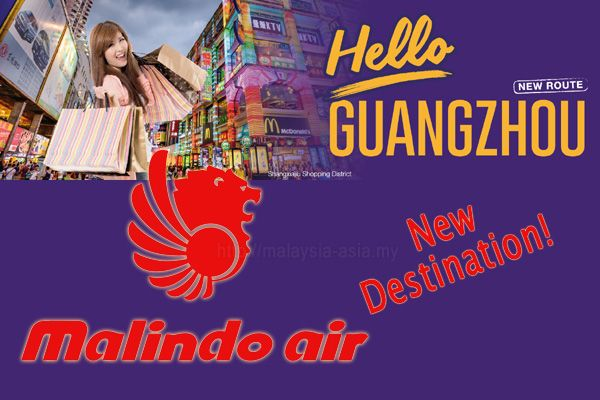 Malindo Air Flights to Guangzhou