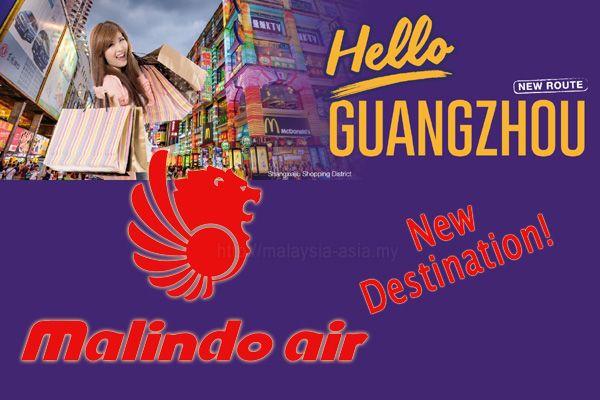 Malindo Air Flights to Guangzhou