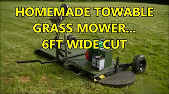 DonsDeals Blog: Hacked - R/C Lawn Mower Homemade Radio Controlled