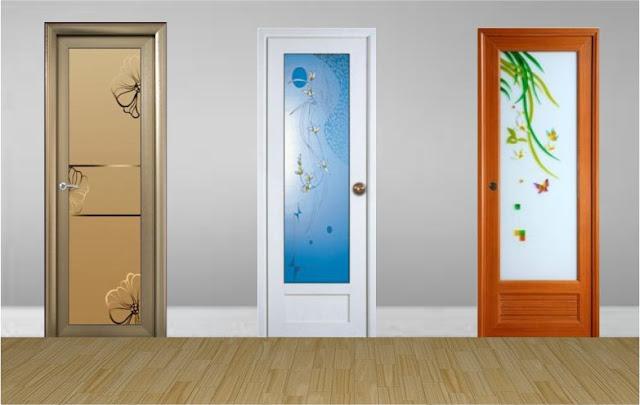 Macam-macam pilihan pintu kamar mandi