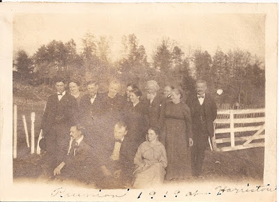 Jollett Reunion 1919 in Harriston, Virginia