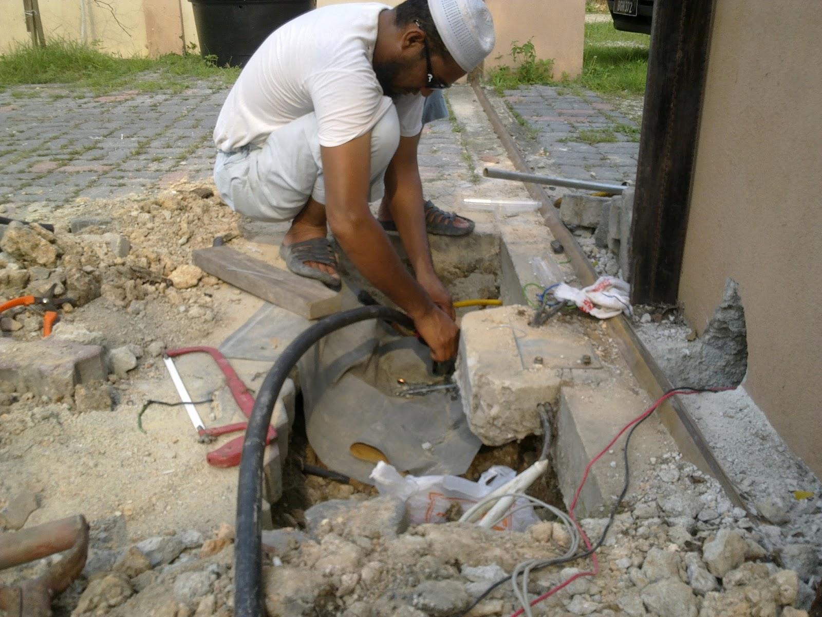 Electrical And Aircond Services  Kerja Kerja Penyambungan