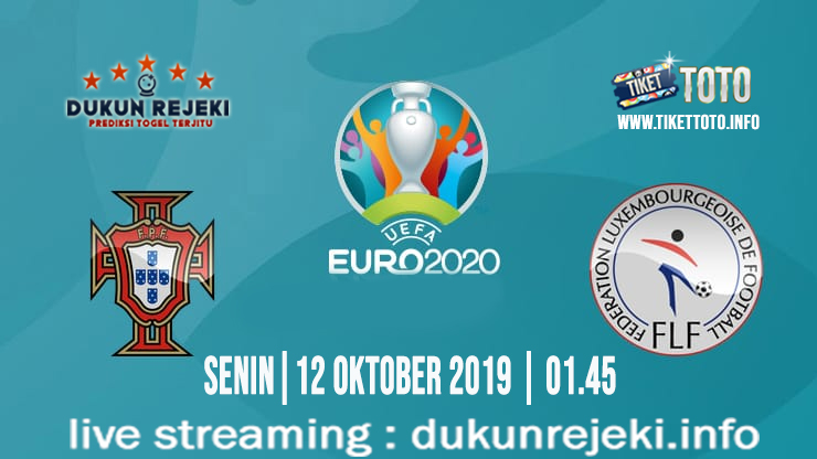 Prediksi EURO Qualification Portugal Vs Luxembourg 12 Oktober 2019