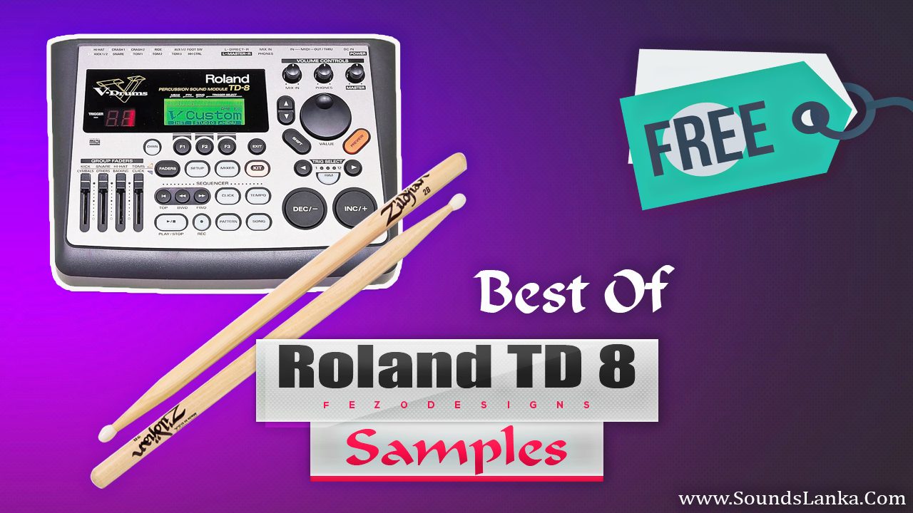Roland TD 8 Drum Samples (HQ) Free Download - SoundsLanka
