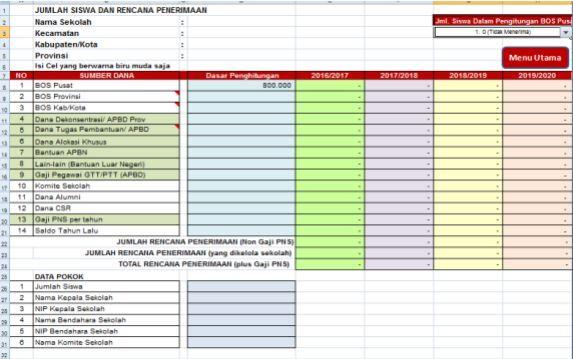 gambar panduan penggunaan Aplikasi EDS-RKS-RKAS Berbasis SPM dan SNP Untuk SD dan SMP