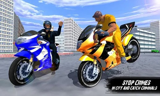 Police Bike – Gangster Chase Apk Free on Android Game Download