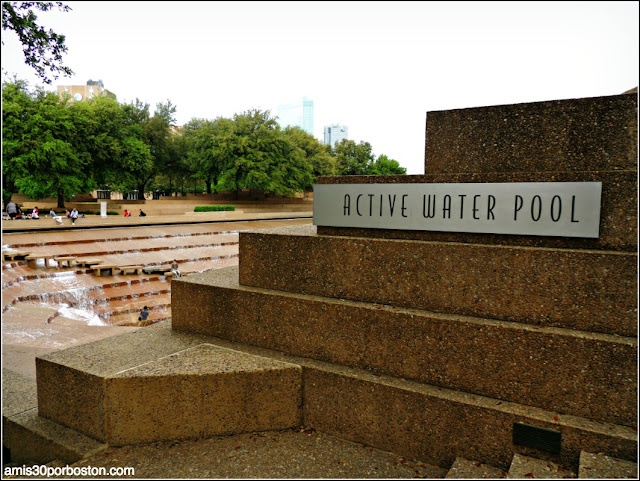 Fort Worth Water Garden: Active Water Pool