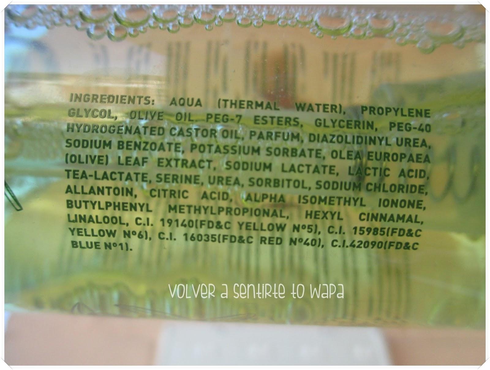 Rutina facial: Agua de Oliva Tonificante de LA CHINATA