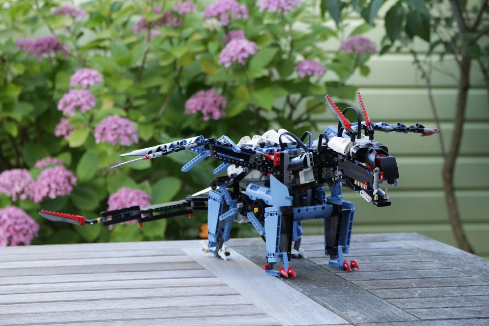 Saphiro: The Blue Dragon - Robot Remix #4 | The NXT STEP ...