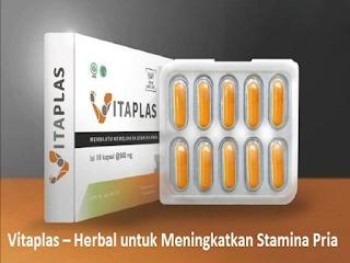 Pastikan hanya mengonsumsi Vitaplas sebagai obat herbal untuk meningkatkan stamina pria. Vitaplas aman dan nyaman untuk anda.