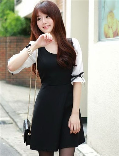 gaya fashion wanita korea style casual