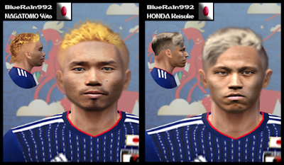 PES 6 Facepack Japan World Cup 2018 Russia by BR92