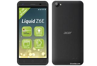 Full spesifikasi harga Acer Liquid Z6E