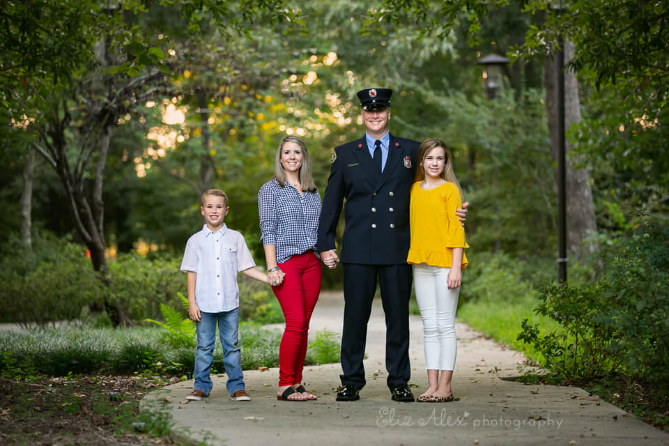 9/11 Thank You Family Photoshoot for Police, Fire, and
