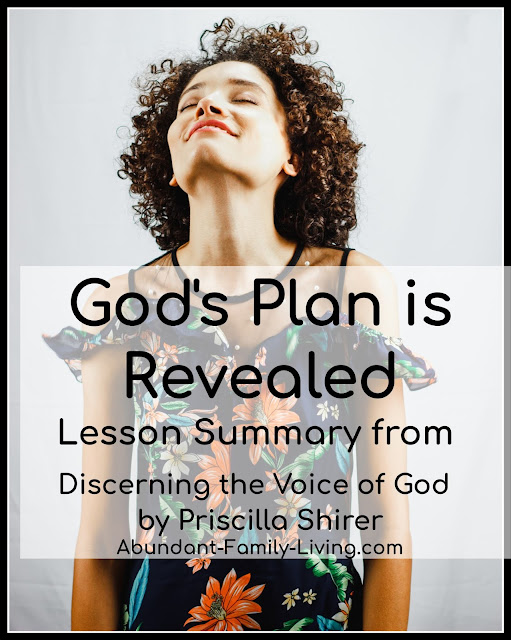 God's Plan is Revealed by His Voice