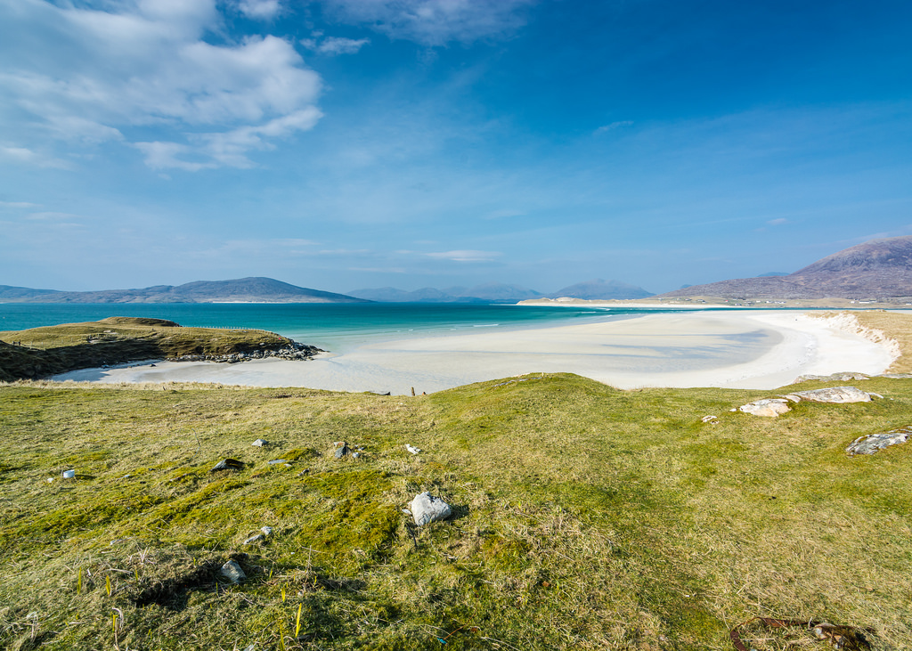 Luskentyre Beach, South Harris Island - Why Scotland May Be The Most Breathtaking Country on Earth
