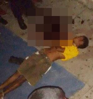 Homicídio foi registrado no centro da cidade de Carnaúba dos Dantas