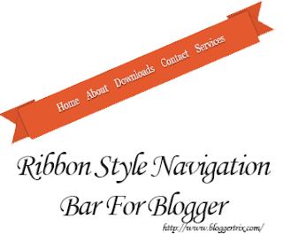 Ribbon+Style+navigation+bar