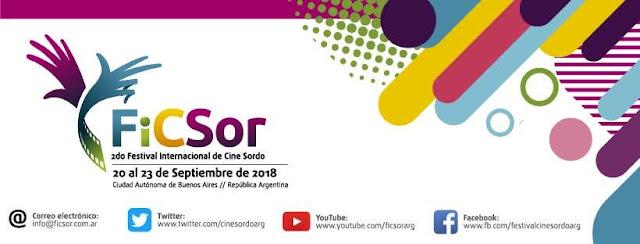 Se viene el 2do Festival Internacional de Cine Sordo de Argentina