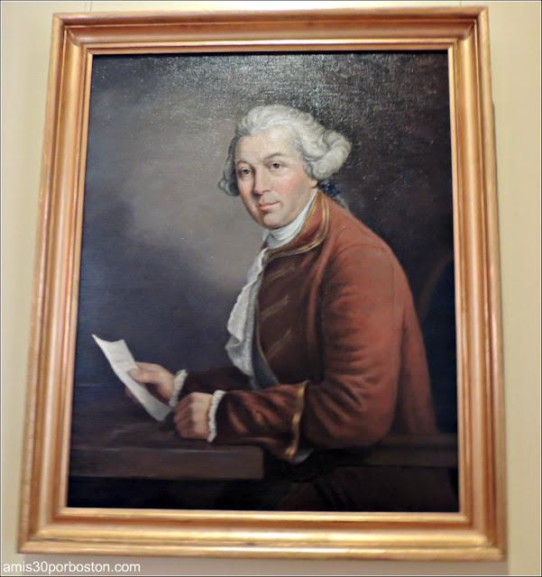 Retrato del Gobernador Thomas Pownall