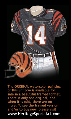 Cincinnati Bengals 2001 uniform