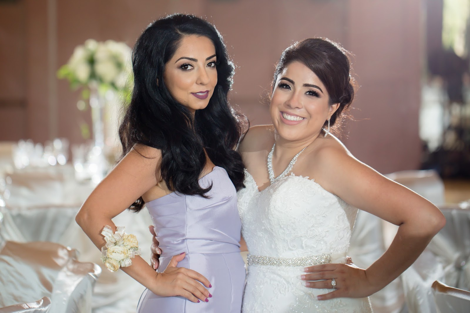 Bride and Matron of Honor