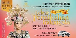 cari tiket event gebyar pernikahan indonesia di kartika expo balai kartini jakarta