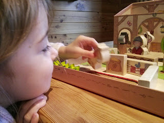 haba horse farm play set