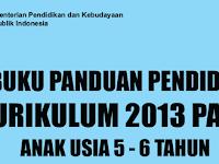 Download Buku Panduan Kurikulum 2013 Lengkap untuk Guru PAUD