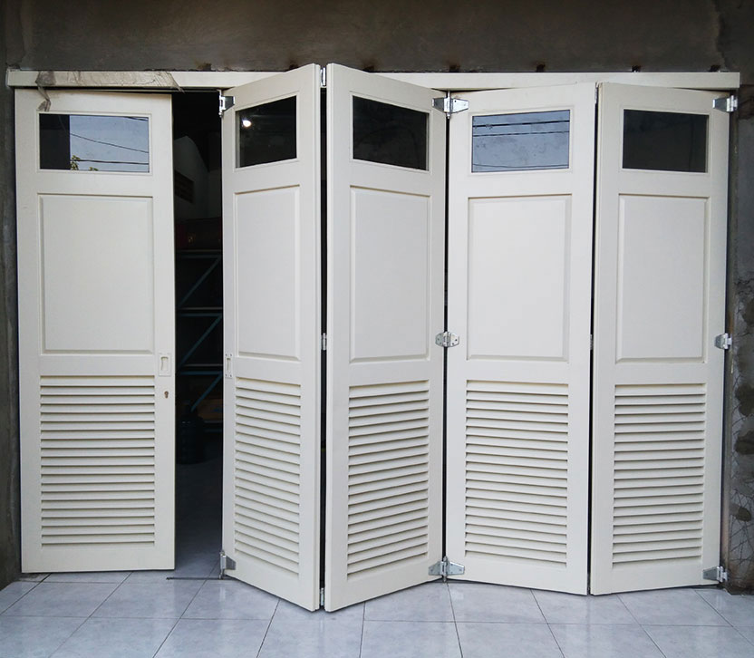 spesialis pintu lipat besi Tambun