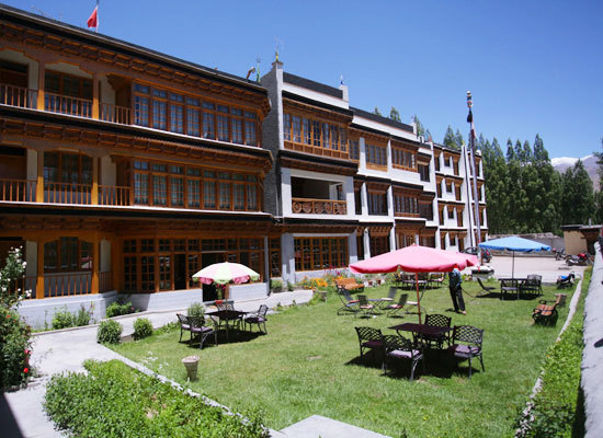 The Kaal Hotel Ladakh, Jammu & Kashmir is a luxury property.