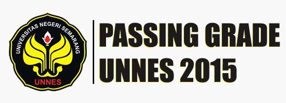 Passing Grade UNNES 2016