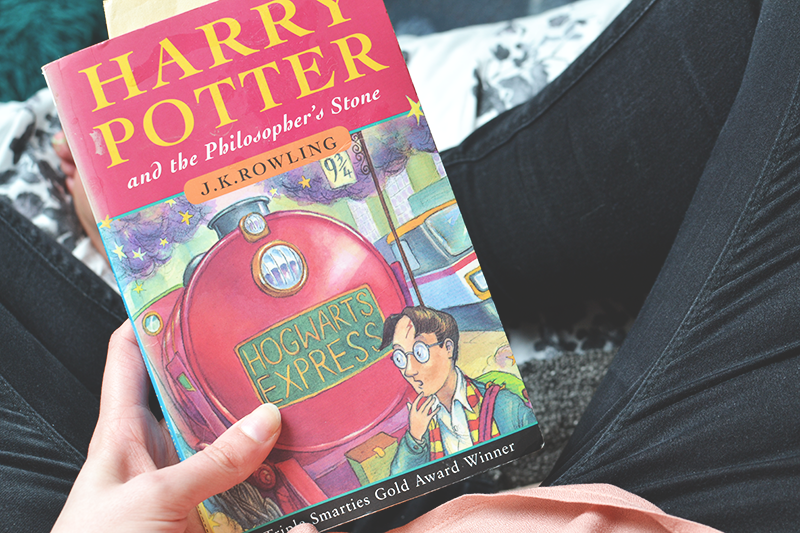 Harry Potter and the Philosopher's Stone book club review blogger  | Colours and Carousels - Scottish Lifestyle, Beauty and Fashion blog