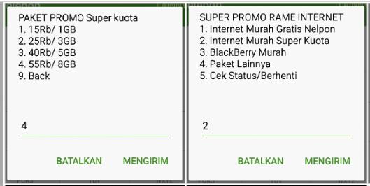 Paket internet Telkomsel promo super murah untuk pengguna AS dan Simpati