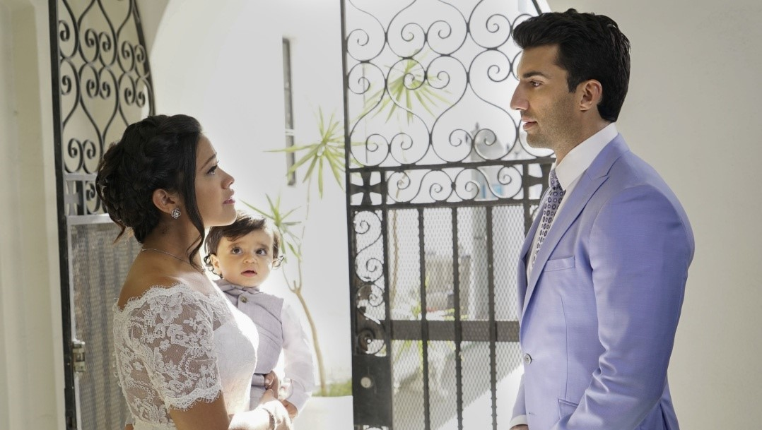 Gina Rodriguez Justin Baldoni Jane Villanueva Rafael Solano boda wedding season 2 Jane The Virgin