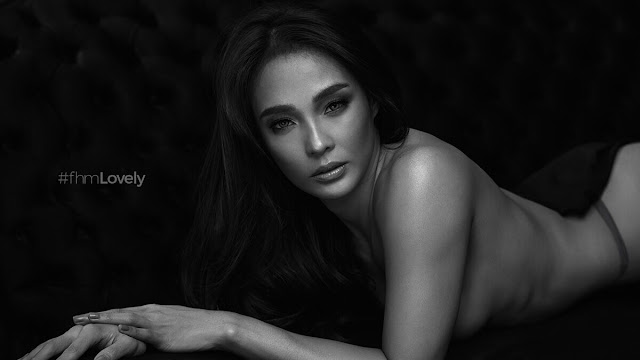 Lovely Abella FHM April 2018 Cover Girl