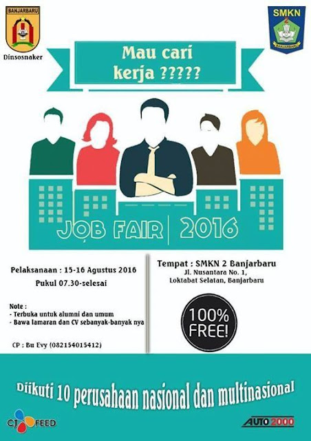Job Fair Banjarbaru 2016