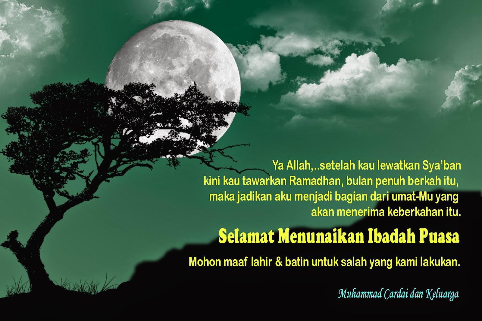 29 Ucapan Selamat Berpuasa Di Bulan Ramadhan Pictures Kata
